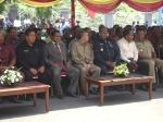 Rektor bersama Para tamu undangan