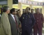 Rektor dan Undangan saat di dalam Auditorium
